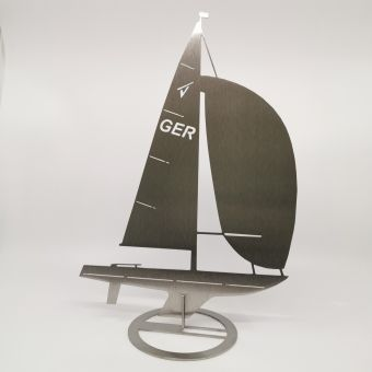 Segelboot-Aufstecker